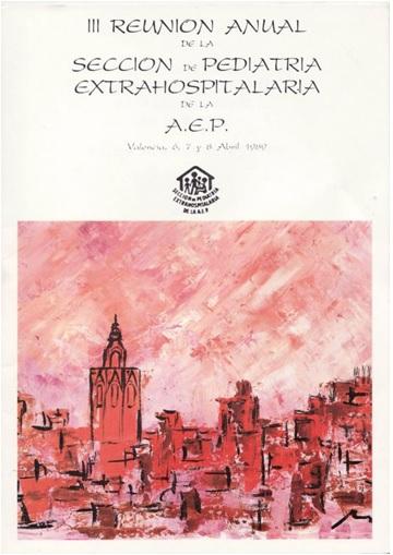 Cartel III Congreso SEPEAP Valencia 1989