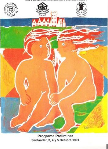 Cartel V Congreso Sepeap Santander 1991