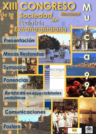 Cartel del Congreso SEPEAP 1999 Murcia
