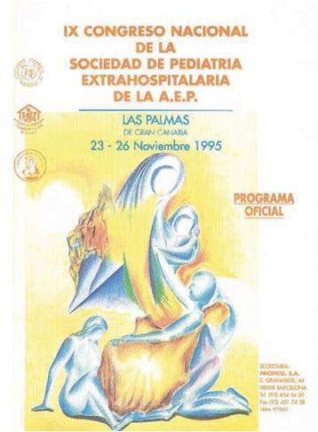 Cartel del IX Congreso Sepeap Las Palmas 1995
