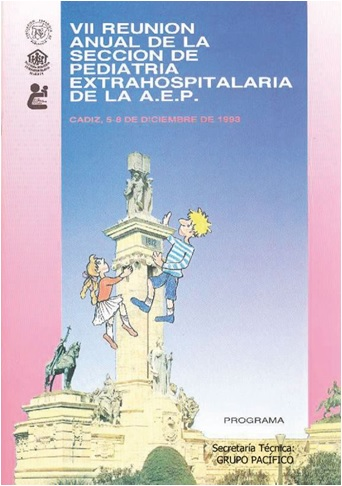 Cartel del VI Congreso Sepeap Cadiz 1993