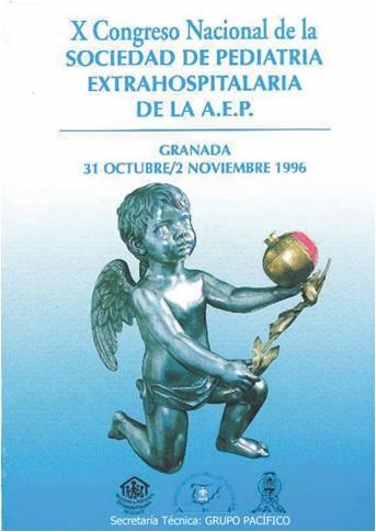 Cartel del X Congreso Sepeap Granada 1996