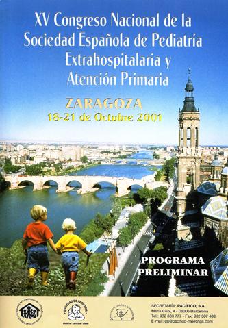 Cartel del XV Congreso SEPEAP Zaragoza