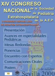 Cartel Congreso SEPEAP 2000 Sevilla
