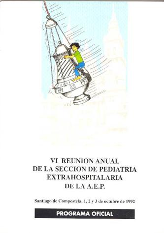 Cartel del Congreso de la SEPEAP 1992
