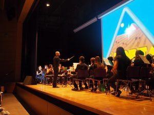 Banda Juvenil Unió Musical l'Horta del barri de Sant Marcel.lí de València