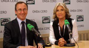 Alfonso Alonso y Julia Otero| Foto: MGF/ ondacero.es