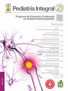 Pediatría Integral 2015-8 Neurología
